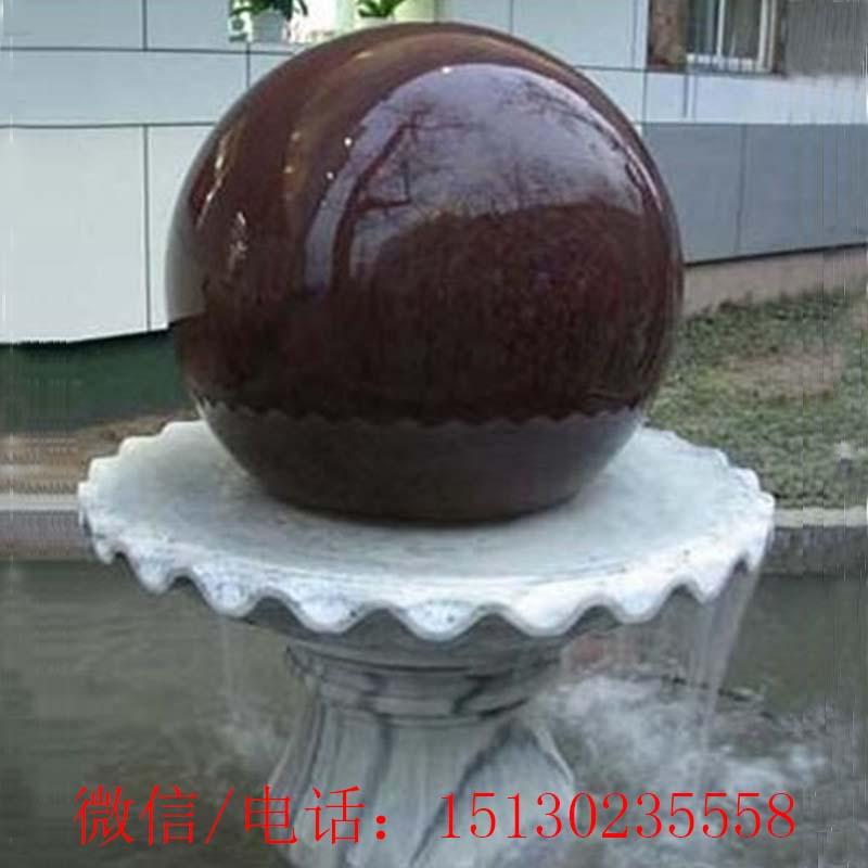 厂家定制大理石新宝5登录圆球风水转运珠流水景观摆件