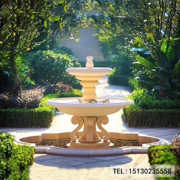 欧式新宝5登录喷泉园林装饰