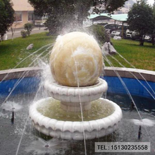 景区风水球水景装饰图片