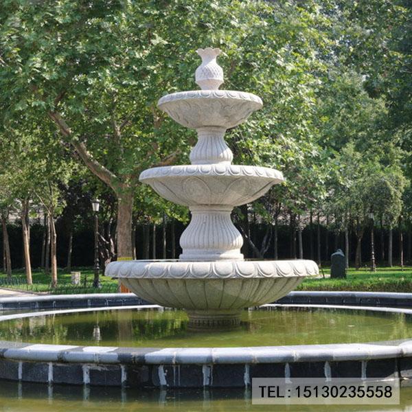 大理石喷泉雕刻