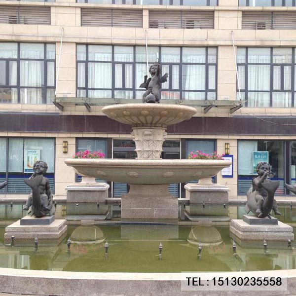 新宝5登录欧式喷泉景观