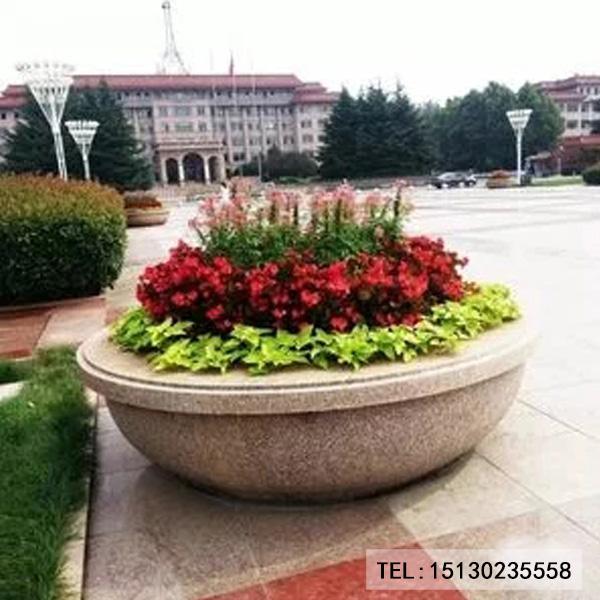 广场花盆装饰