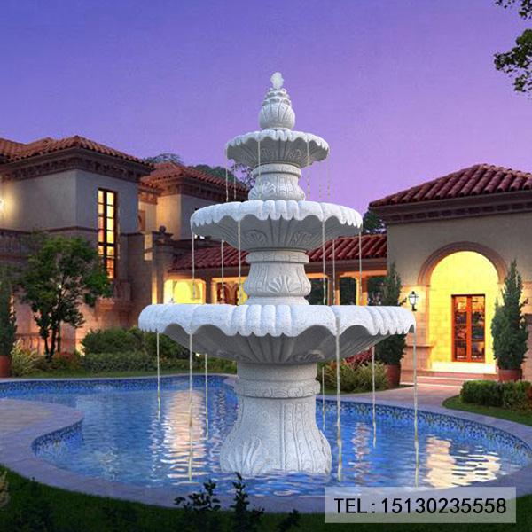 欧式园林喷泉
