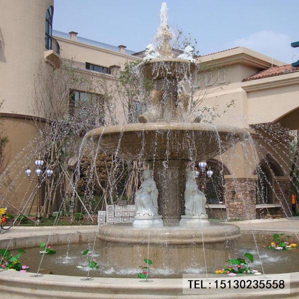新宝5登录喷泉景观