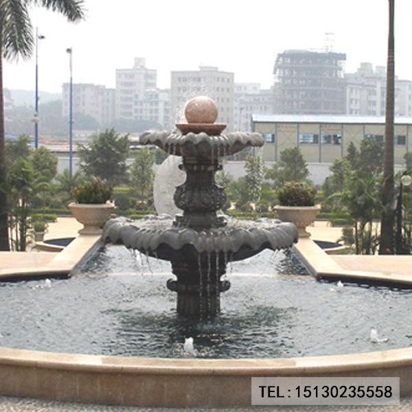 园林喷泉景观