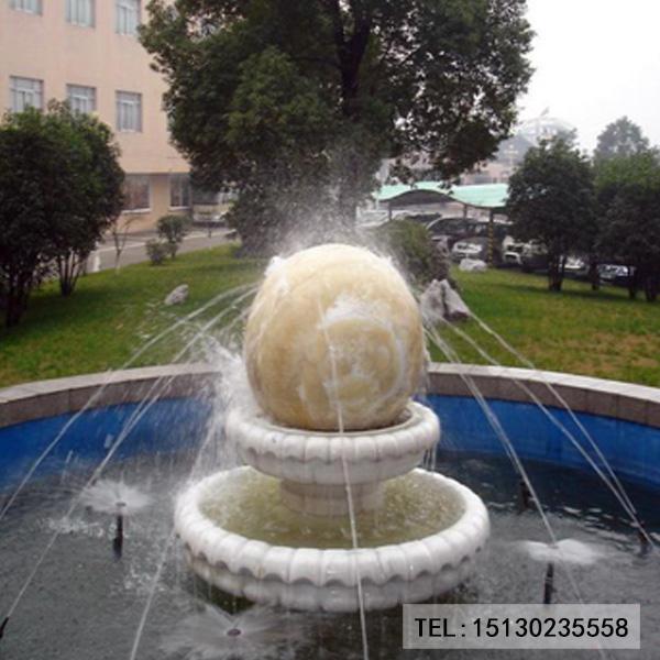 新宝5登录喷水球景观